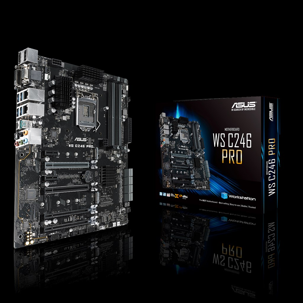 ASUS WS C246 Pro Motherboard
