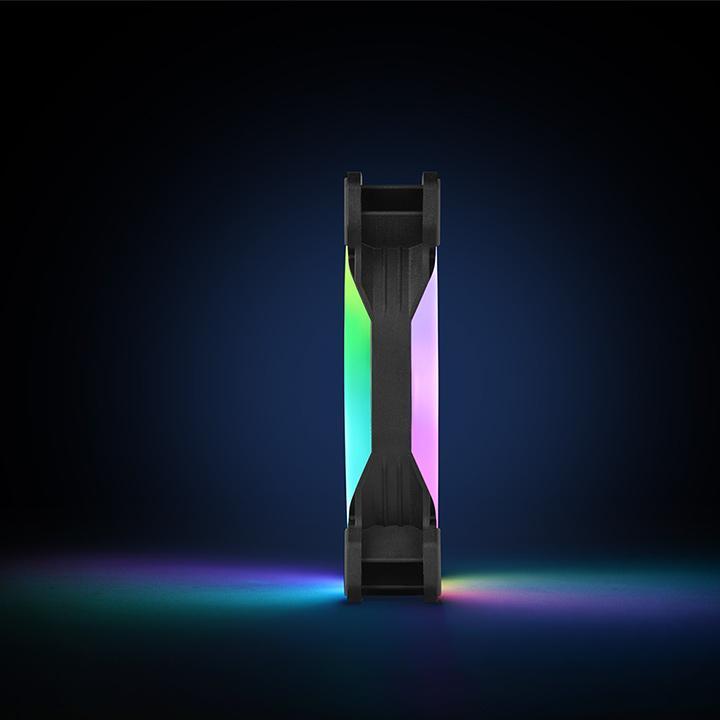 Thermaltake Launches the Riing Trio 12 LED RGB Radiator Fan