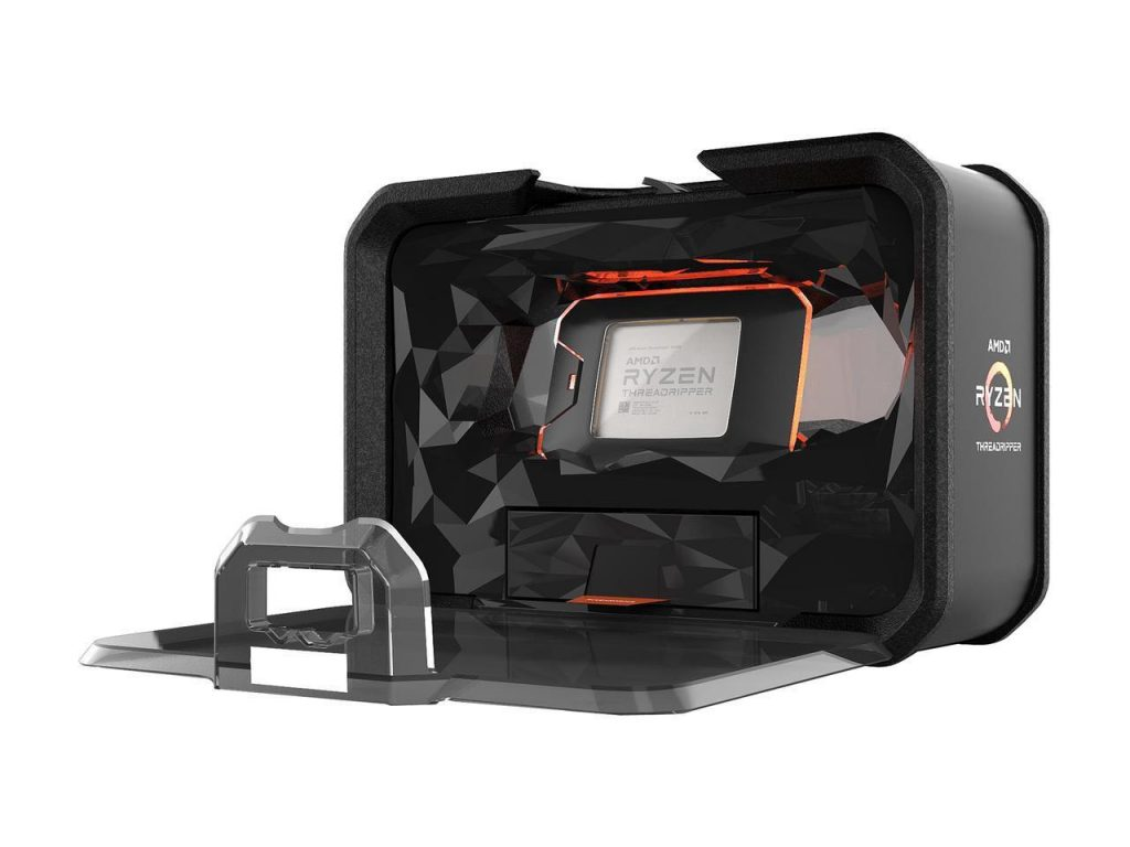 AMD Ryzen threadripper 2990wx box