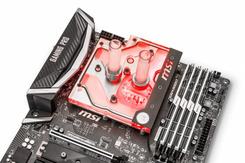 EK monoblock for am4 ryzen msi asrock