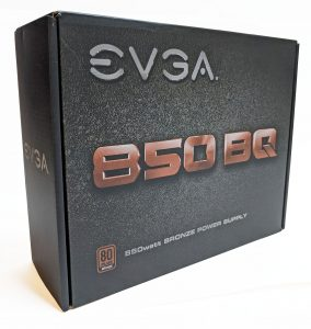 EVGA 850 BQ Box Front