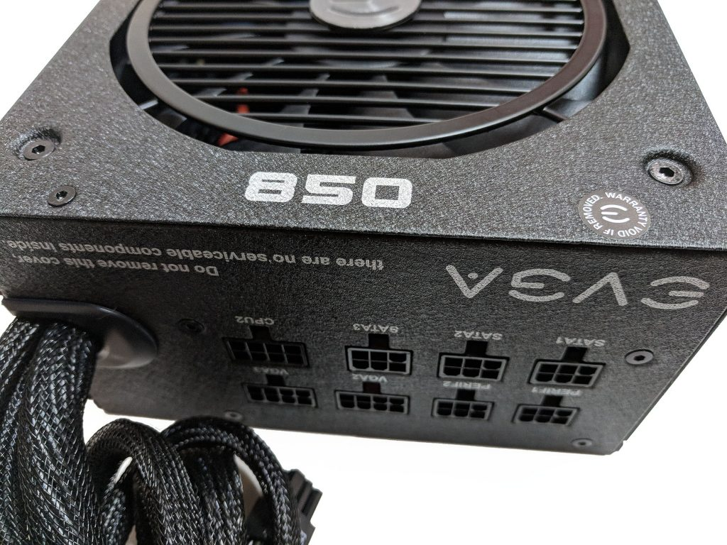 EVGA 850 BQ PSU Surface