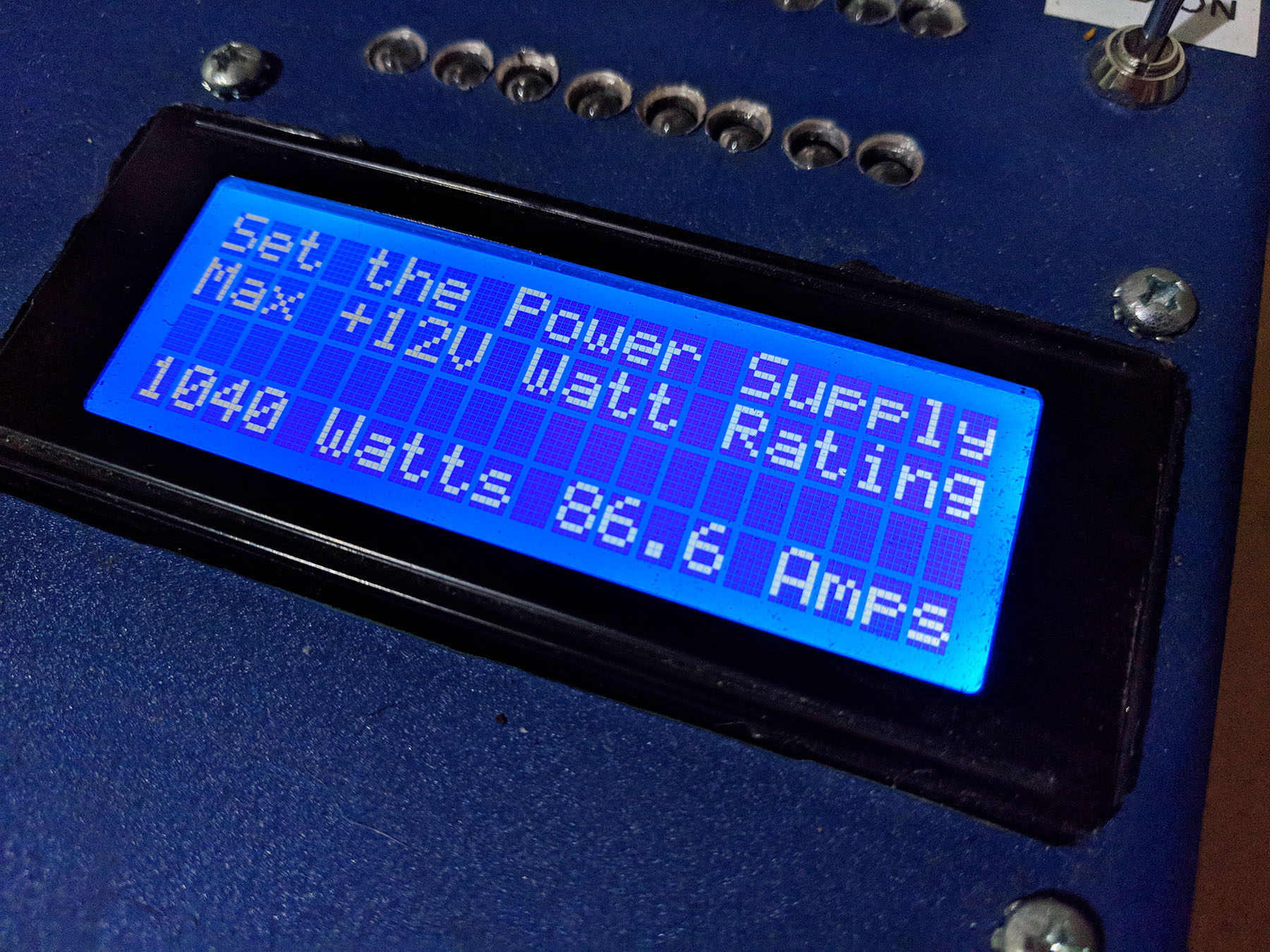 Power Supply Load Tester
