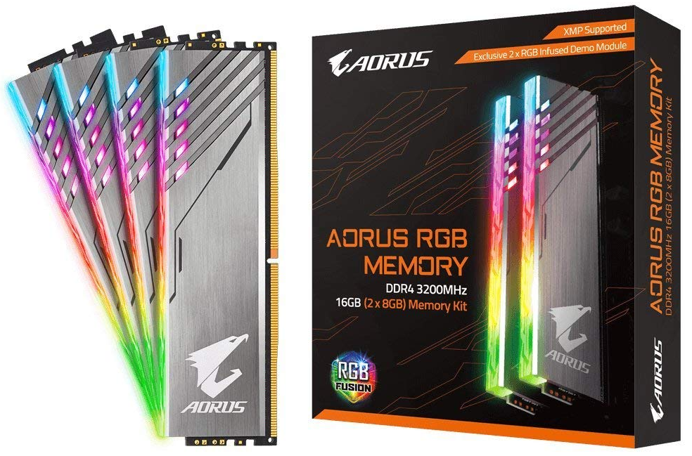 Gigabyte Aorus DDR4 PC3200 Memory Modules
