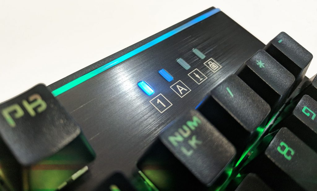 Rosewill NEON K75 RGB Mechanical Keyboard Lock Lights