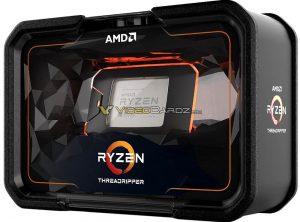 AMD Ryzen 2000 series packaging
