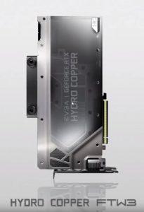 EVGA Hydro Copper FTW3 RTX 2080 GPU