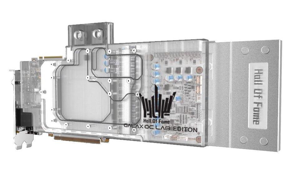 GALAZ RTX 2080 TI HOF OC LAB EDITION Front