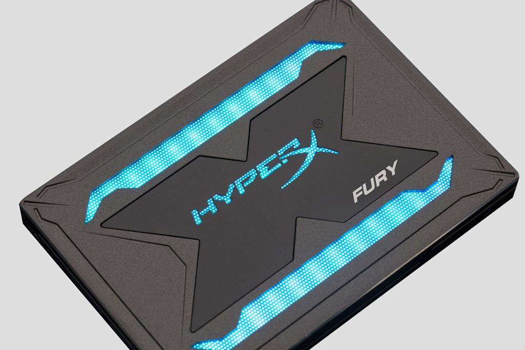 Kingston HyperX Fury RGB SSD Feature