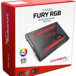 Kingston HyperX Fury RGB SSD Packaging