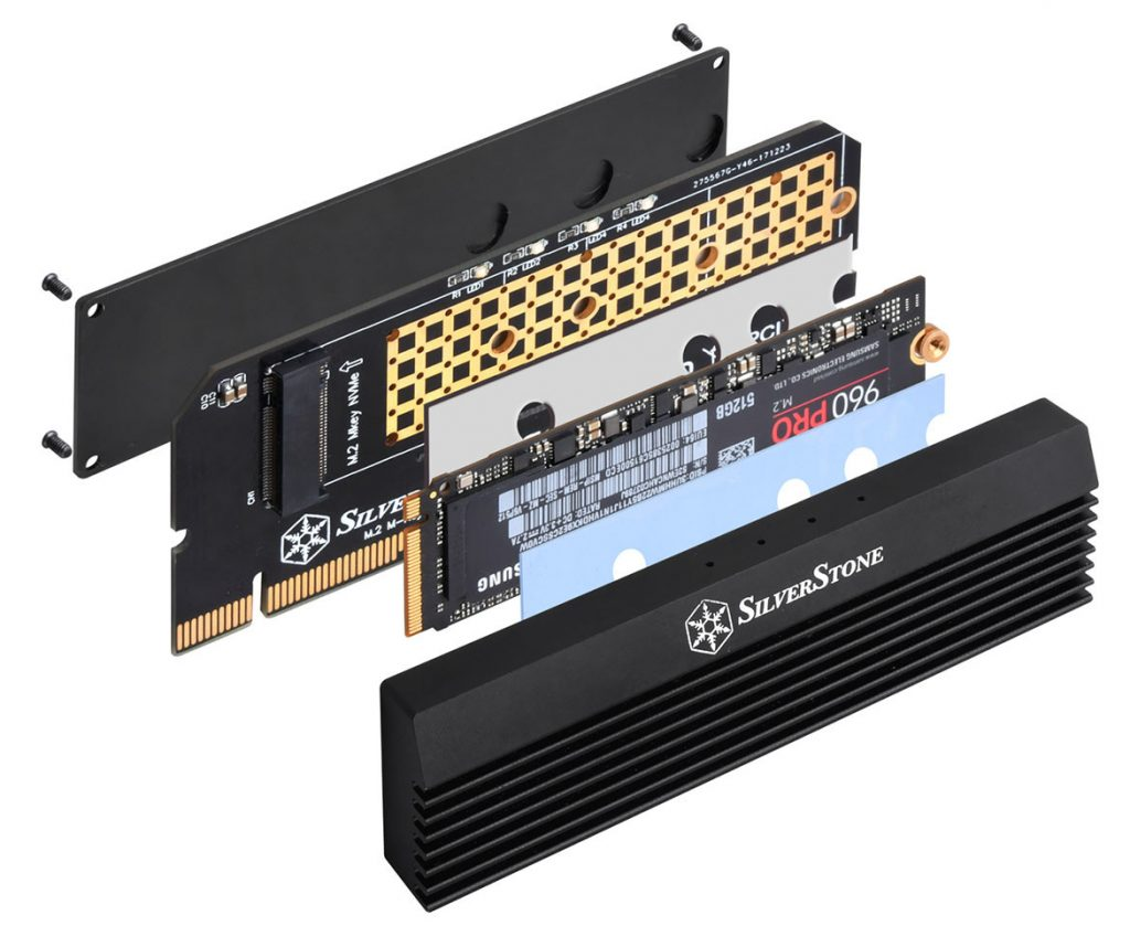 SilverStone ECM23 PCIE Card Disassembed