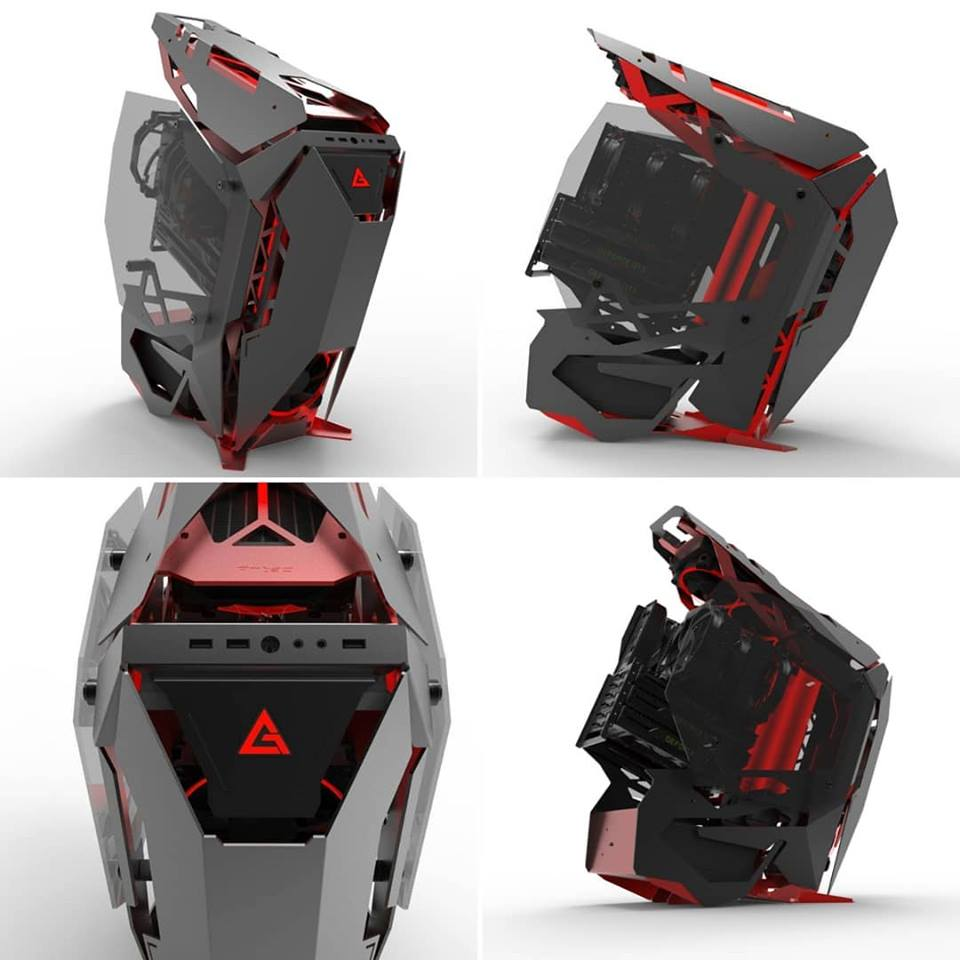 Antec TORQUE Full Tower Gaming Case Angles