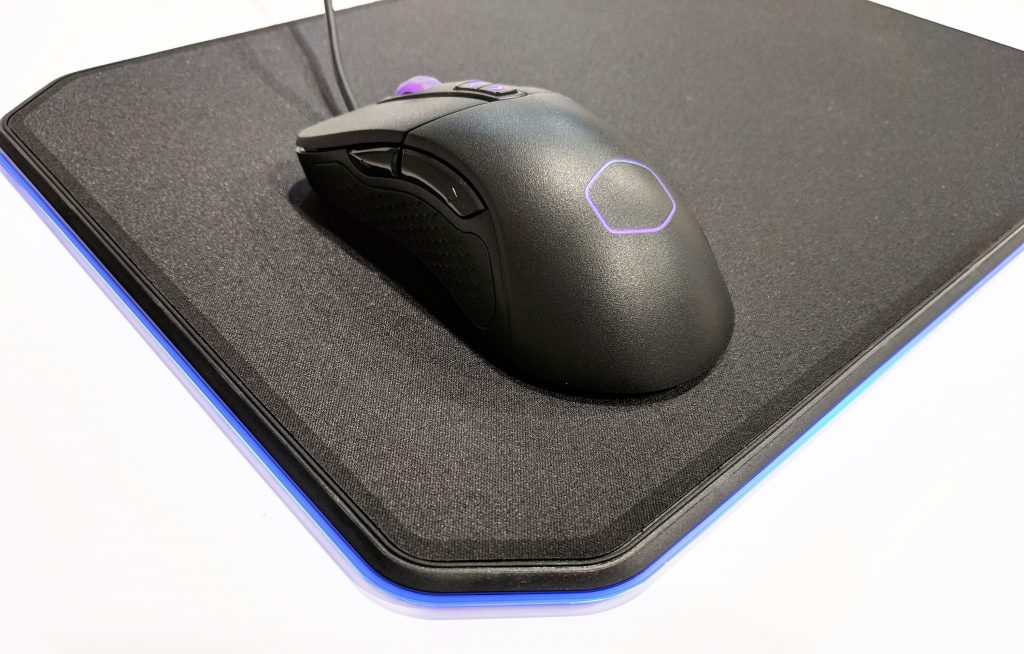 Cooler Master MP860 RGB LED Mouse Pad Blue LED