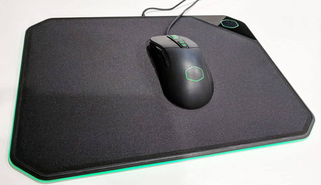 Cooler Master MP860 RGB LED Mouse Pad Green RGB