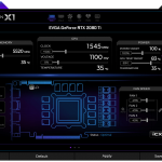 EVGA Precision X1 Screenshot RTX Main