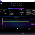 EVGA Precision X1 Screenshot Main