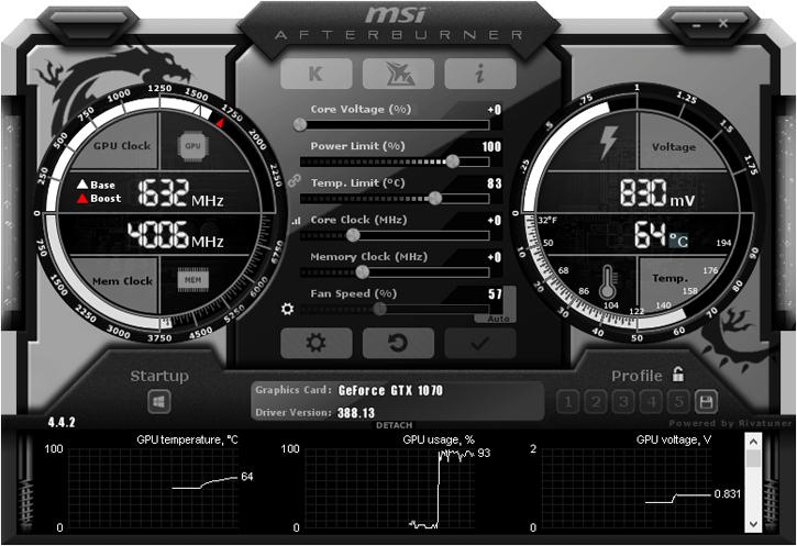 MSI Afterburner RTX 4.6.0