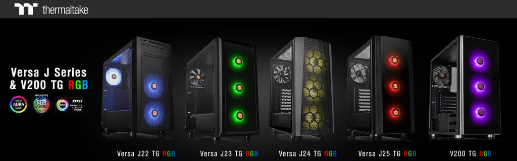Thermaltake J Series V200 TG RGB
