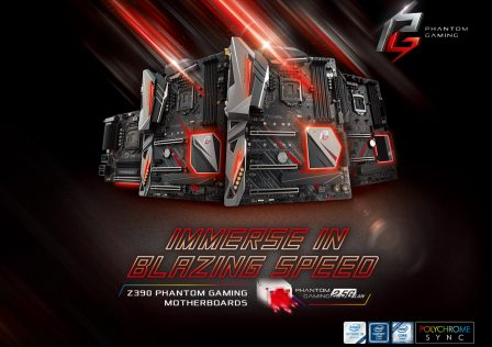 ASRock Z390 Phantom Gaming Motherboard Featured