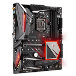 ASRock Z390 Phantom Gaming Motherboard Angle