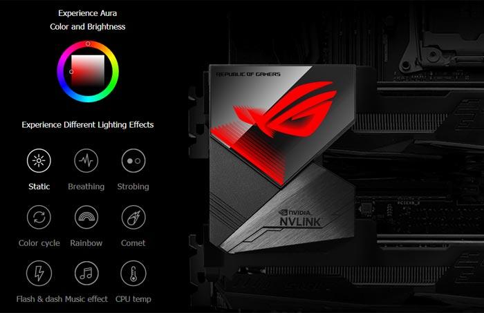 ASUS ROG NVLink RGB