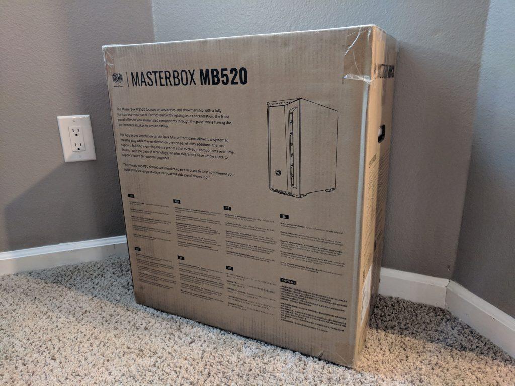 Cooler Master MasterBox MB520 Box Rear