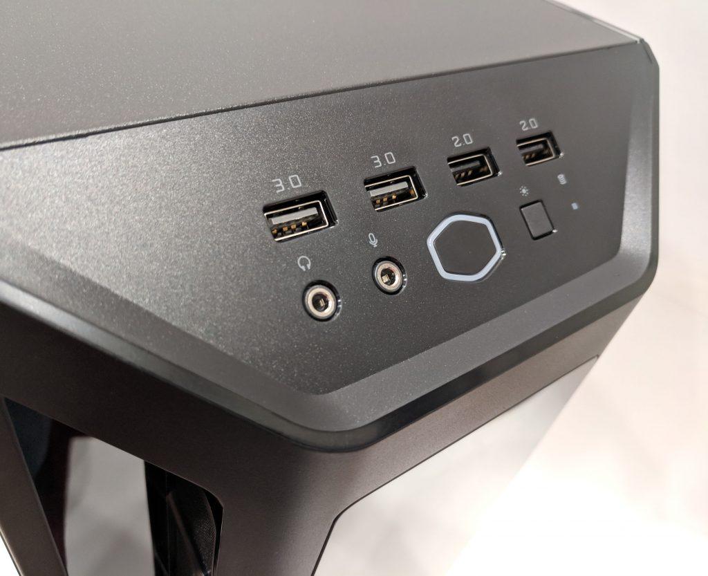 Cooler Master MasterBox MB530P Case Front IO Panel