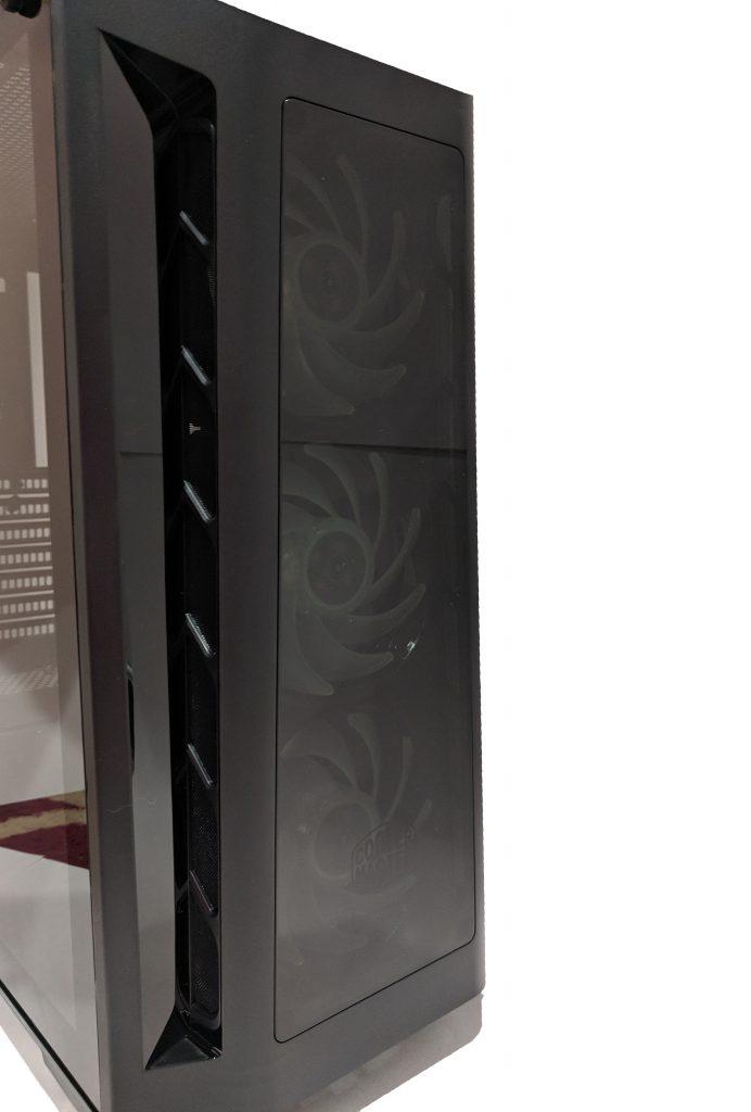 Cooler Master MasterBox MB530P Case Fans Off