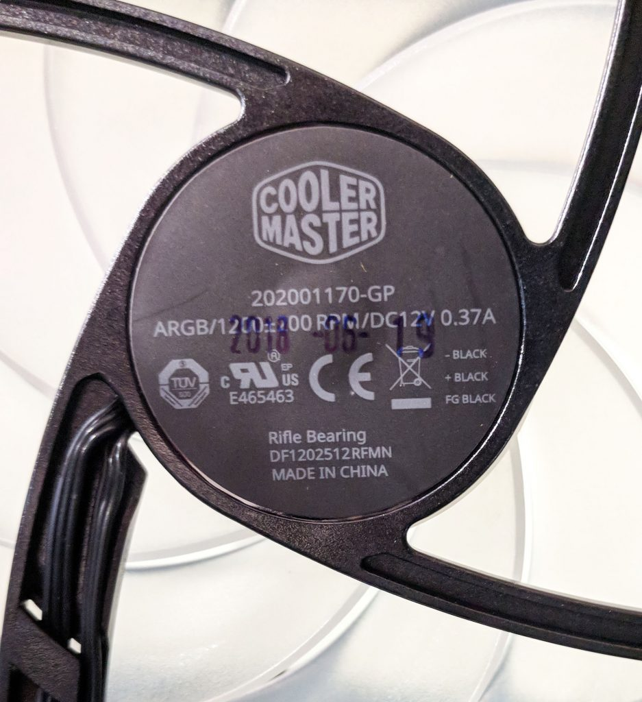 Cooler Master MasterBox MB530P Case RGB Fan Model