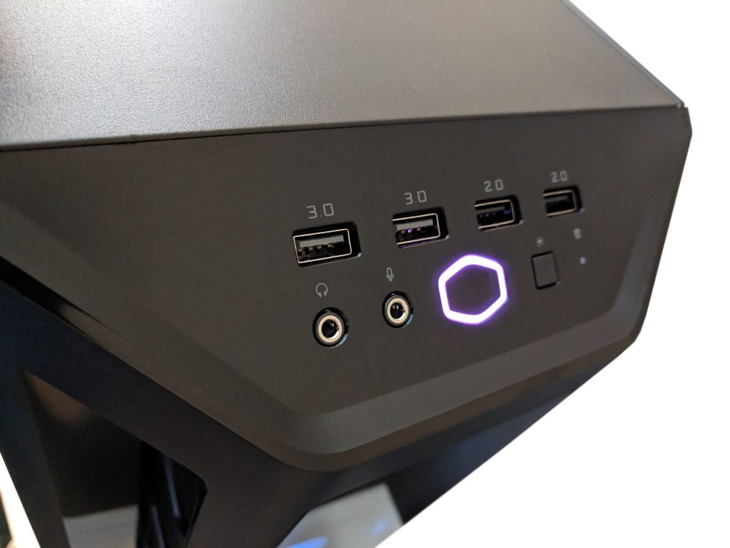 Cooler Master MasterBox MB530P Case Front IO LED