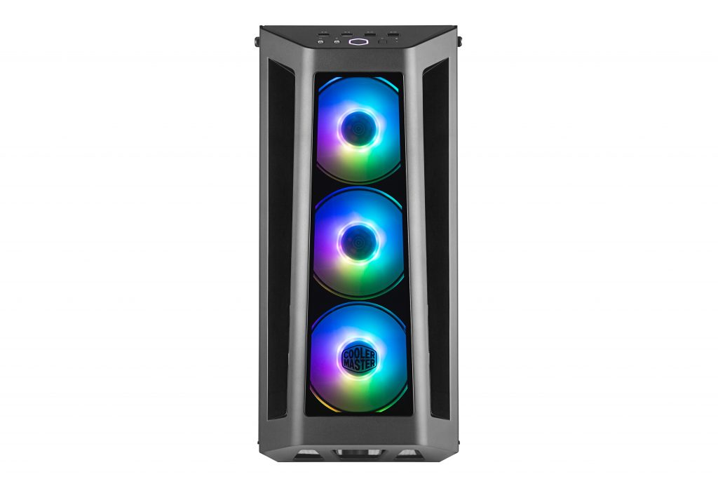 Cooler Master MasterBox MB530P Case Front IO LED Fans
