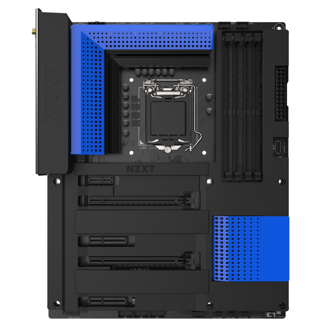 Nzxt Announces The Stealthy N7 Z390 Motherboard Gnd Tech