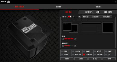 Wraith Ripper Software AMD Logo