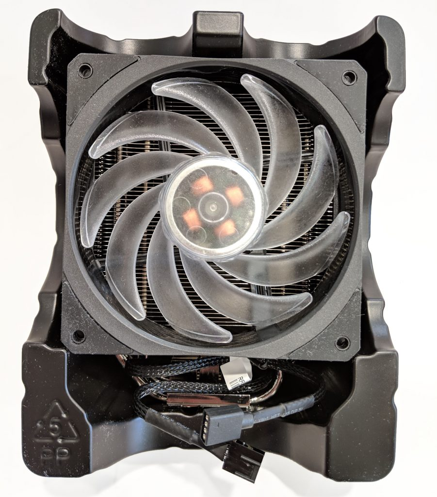 Cooler Master Hyper 212 RGB Black Edition CPU Cooler Packaging