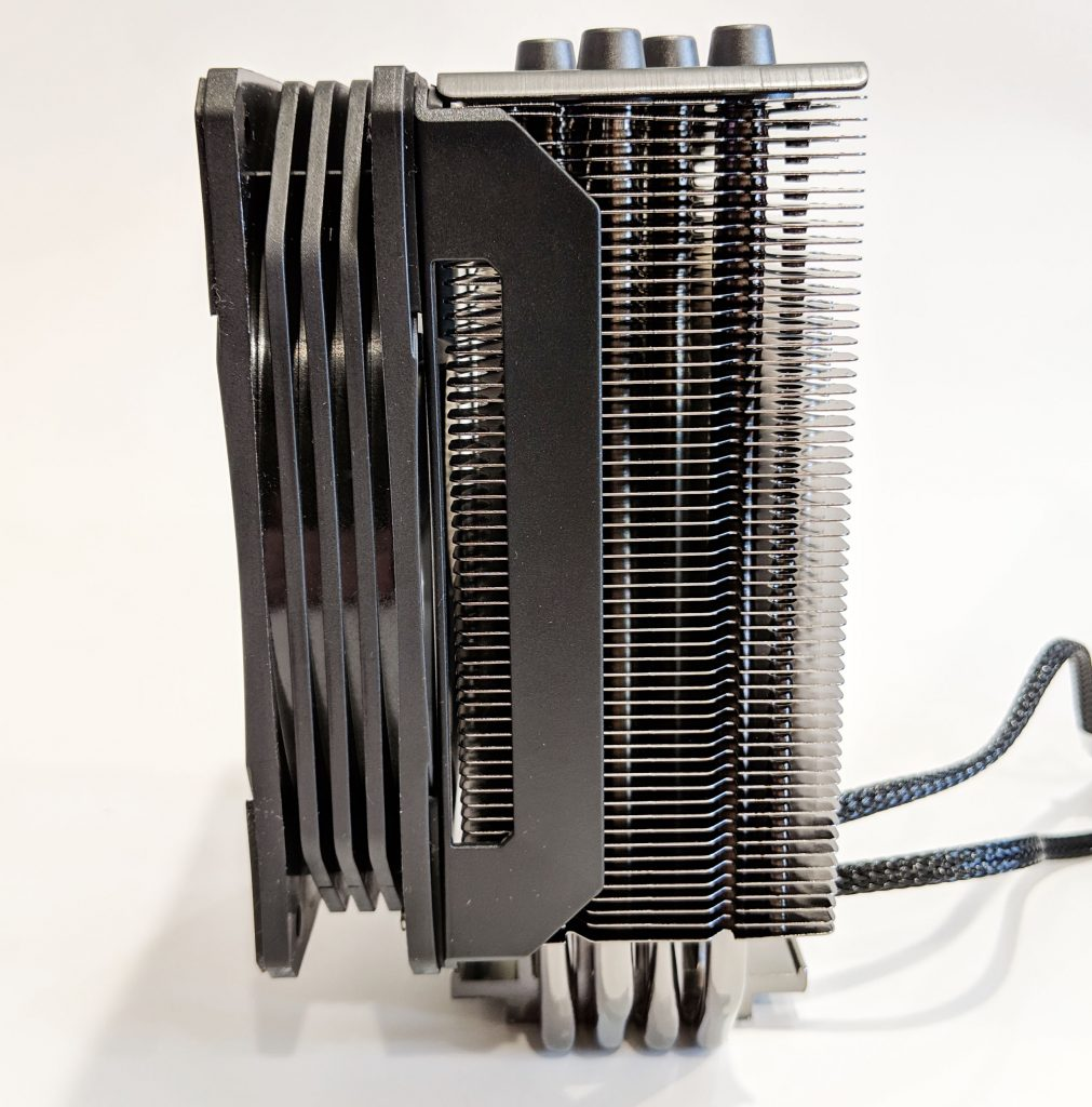 Cooler Master Hyper 212 RGB Black Edition CPU Cooler Side