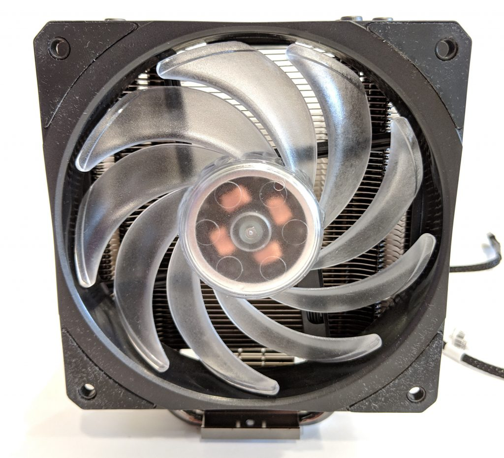Cooler Master Hyper 212 RGB Black Edition CPU Cooler Front