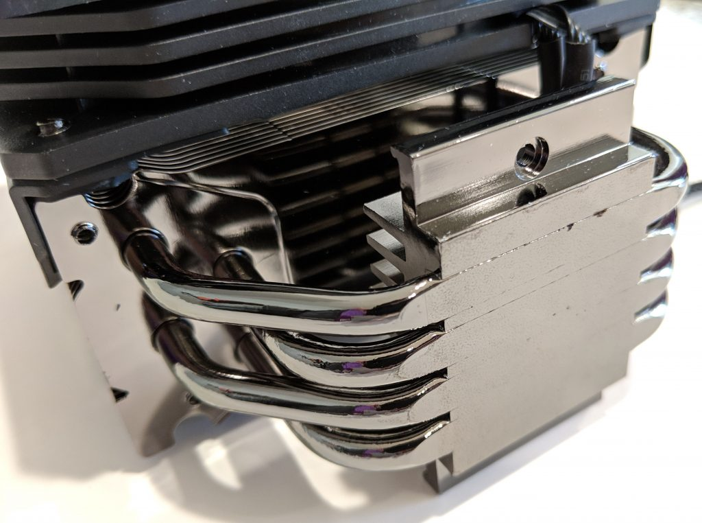 Cooler Master Hyper 212 RGB Black Edition CPU Cooler Heat Pipes