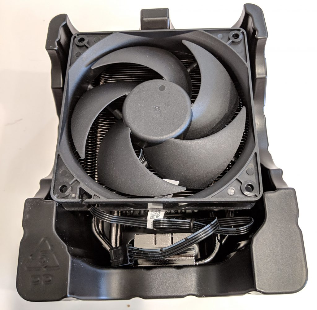Cooler Master Hyper 212 Black Edition CPU Cooler Open