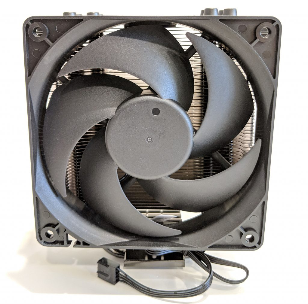Cooler Master Hyper 212 Black Edition CPU Cooler Front