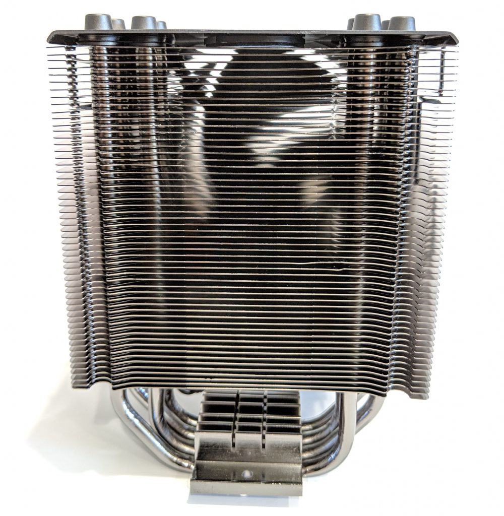 Cooler Master Hyper 212 Black Edition CPU Cooler Back