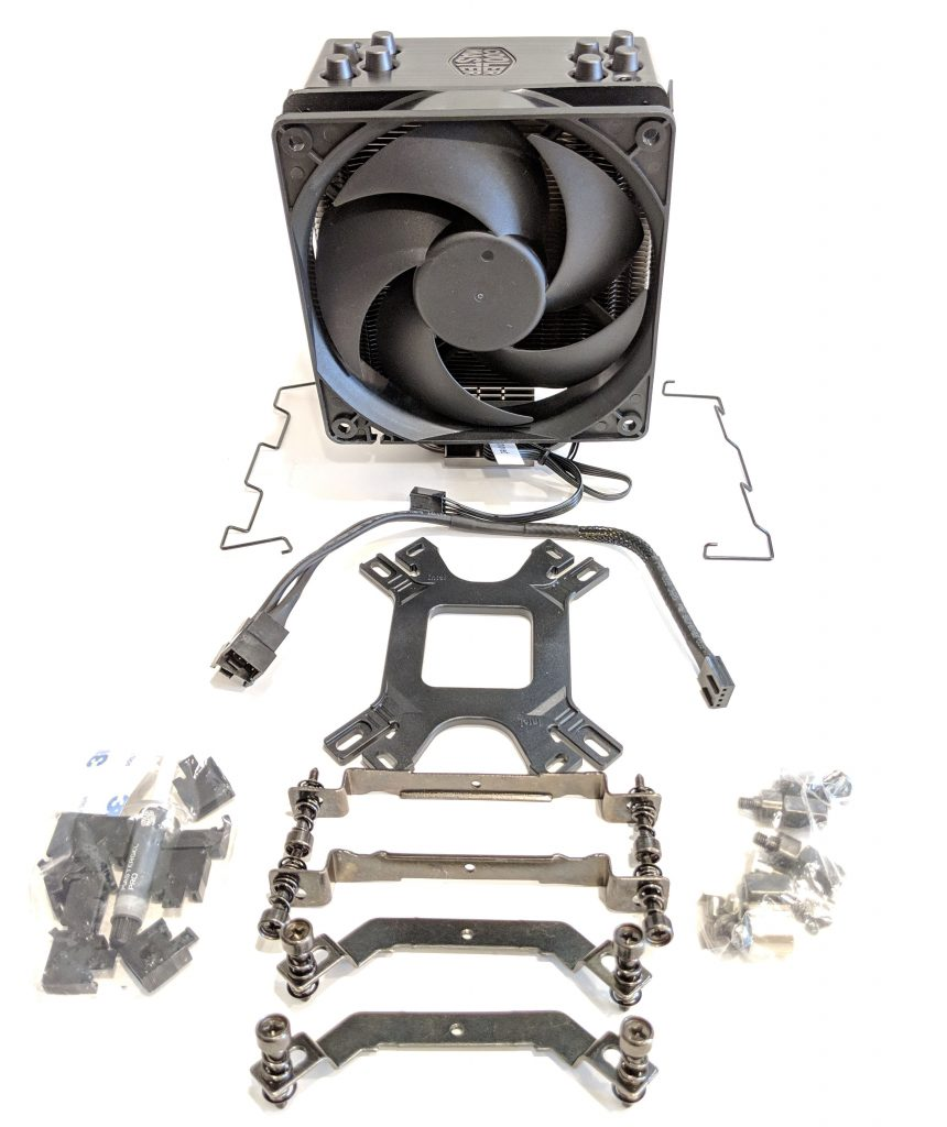 Cooler Master Hyper 212 Black Edition CPU Cooler Contents