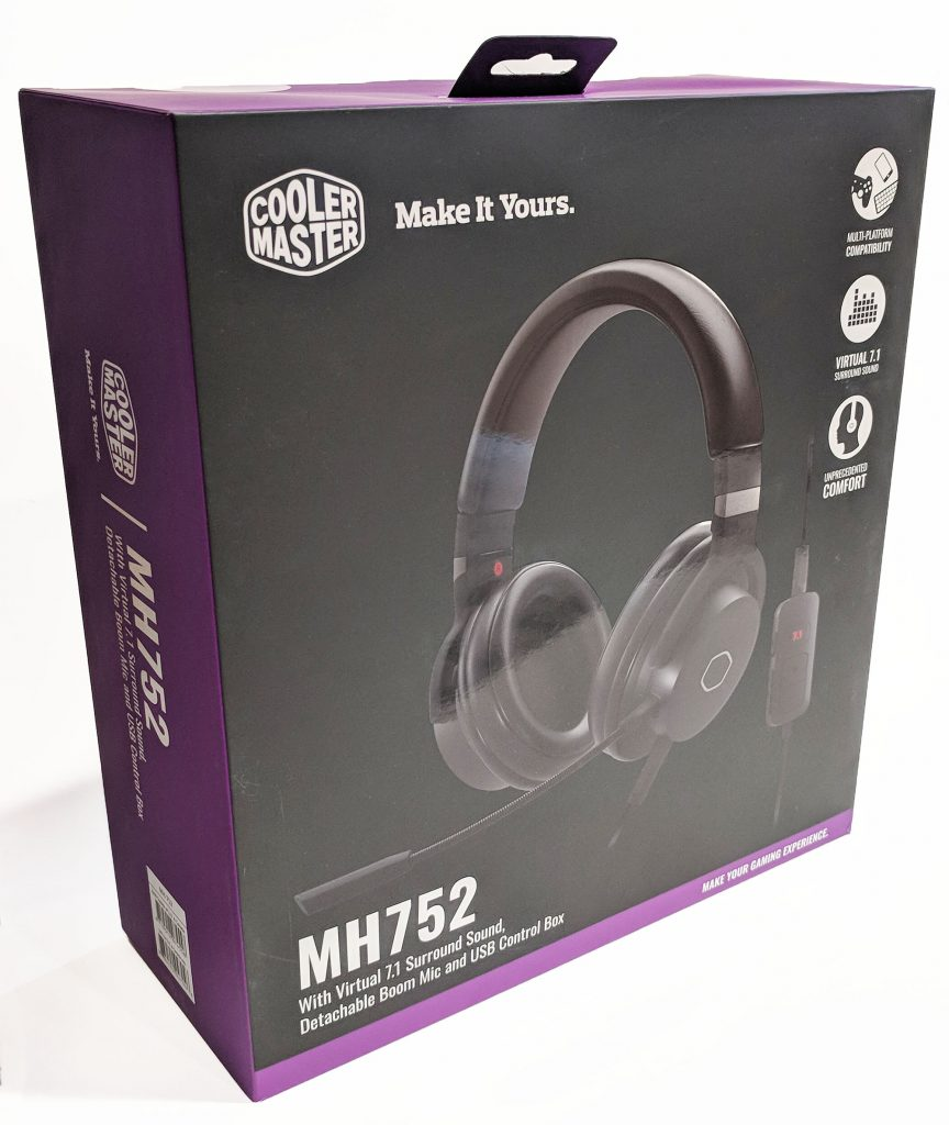 Cooler Master MH752 Gaming Headset Packaging Front