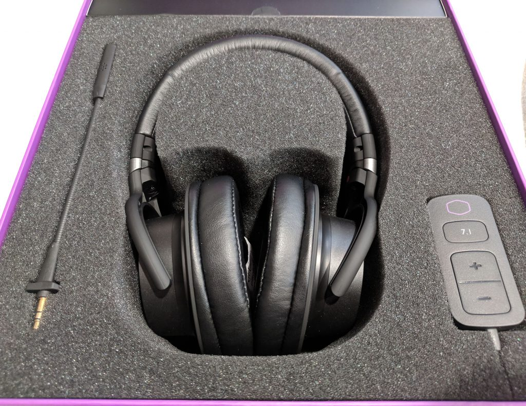 Cooler Master MH752 Gaming Headset Packaging Foam