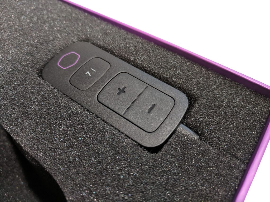 Cooler Master MH752 Gaming Headset DAC Packaging