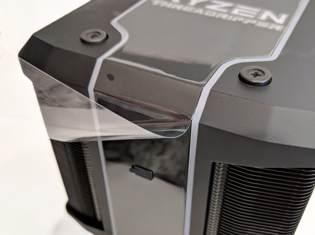 Cooler Master Wraith Ripper CPU Cooler AMD Remove Film