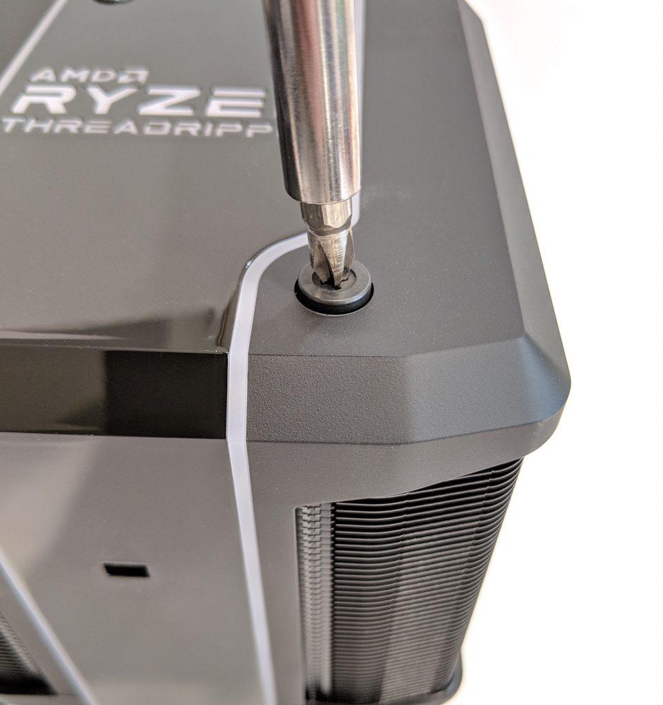 Cooler Master Wraith Ripper CPU Cooler AMD Install Screw