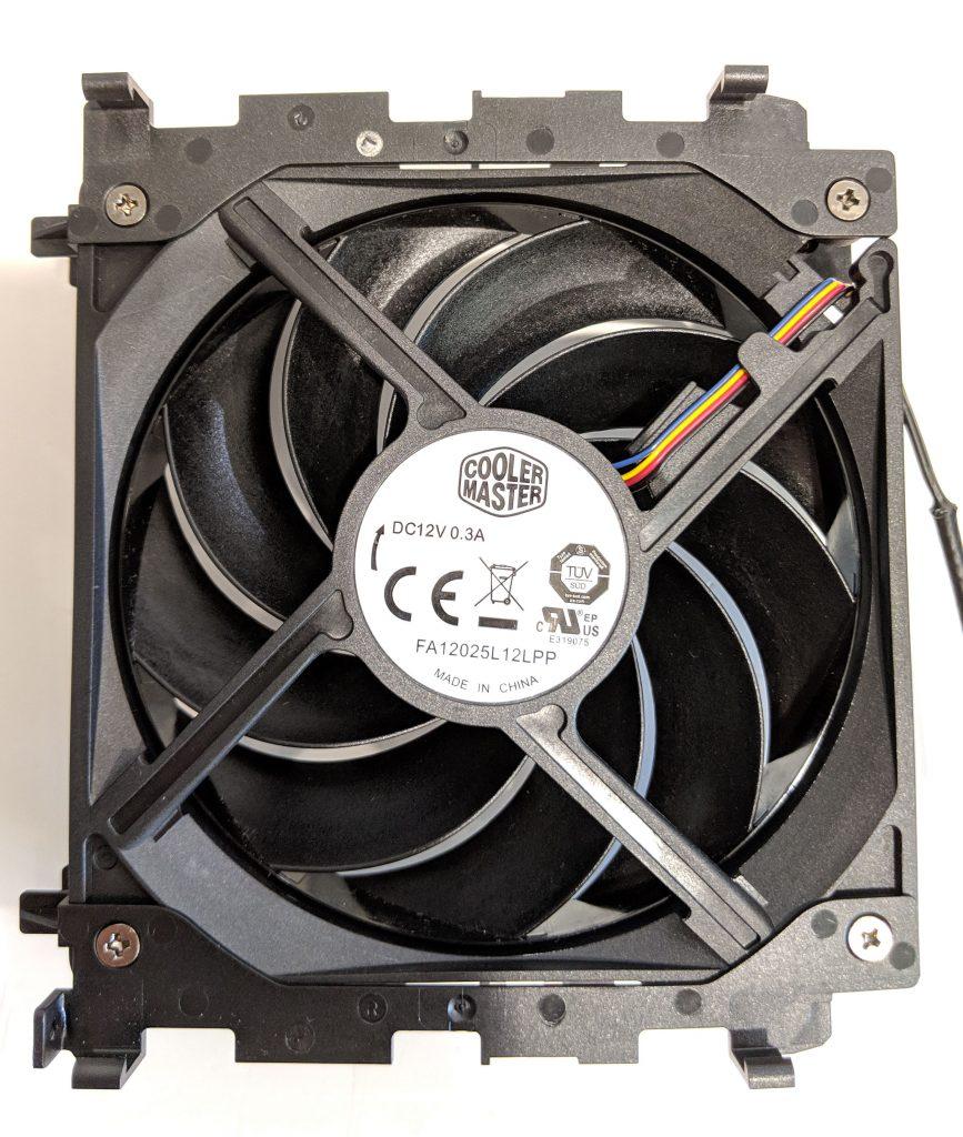 Cooler Master Wraith Ripper CPU Cooler AMD Fan Back