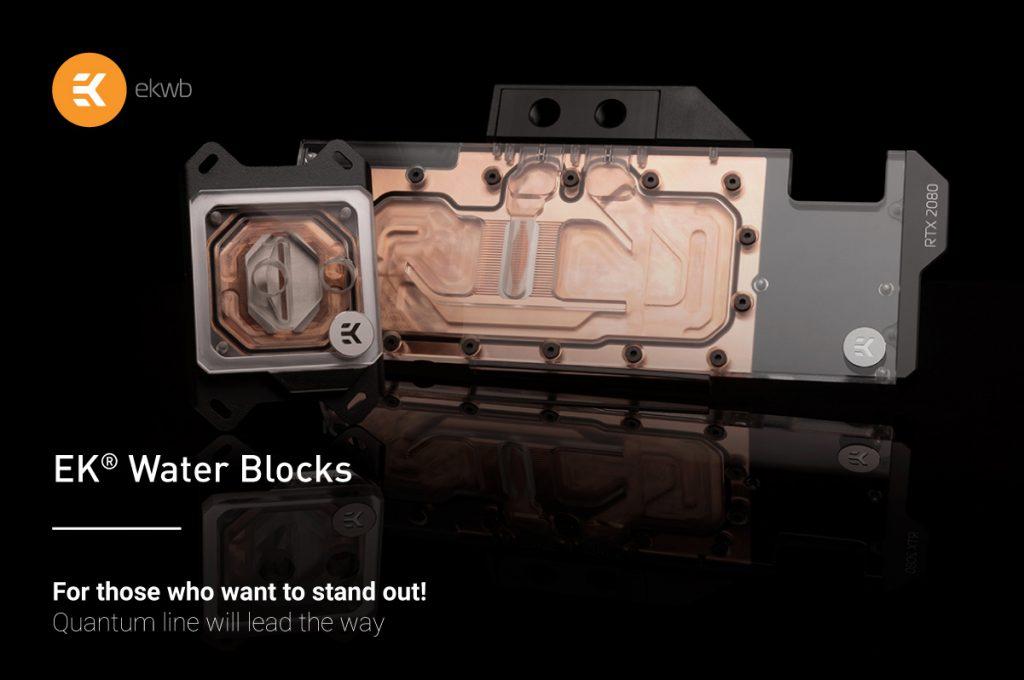 EK Quantum Vector and Velocity water blocks