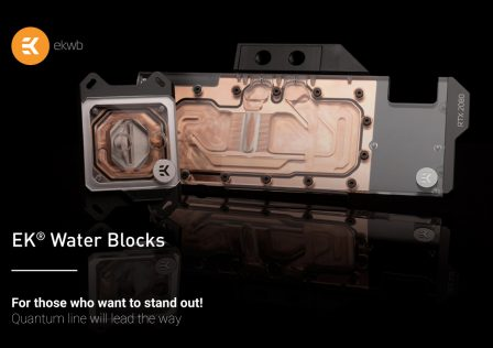 EK Quantum Vector and Velocity water blocks