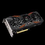 Gigabyte Geforce GTX 1060 G1 Gaming DX5 G6 GPU Angle